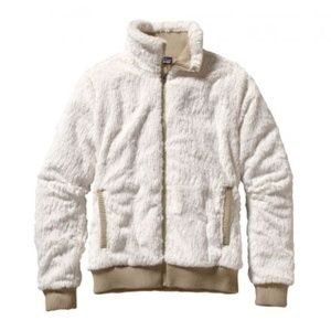 PATAGONIA Conejo Sherpa Fleece Bomber Jacket